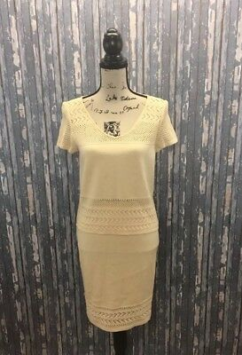 St. John Collection By Marie Gray Designer 2 Piece Knit Top And Skirt Size 4