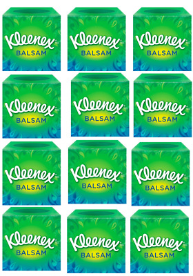 Kleenex® Balsam Cube White Tissues {12 -144 Cubes} Multi Pack Offers from £1.15