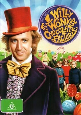 NEW Willy Wonka & the Chocolate Factory DVD Free Shipping