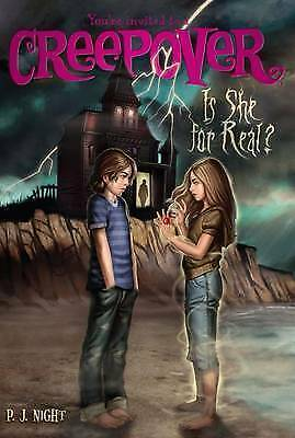 You're invited to a creepover: Is she for real? by P. J Night (Paperback /