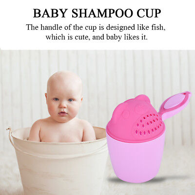 Shampoo Shower Bathing Cup Spoon Water Scoop Bath Beach Toy for Baby Kid