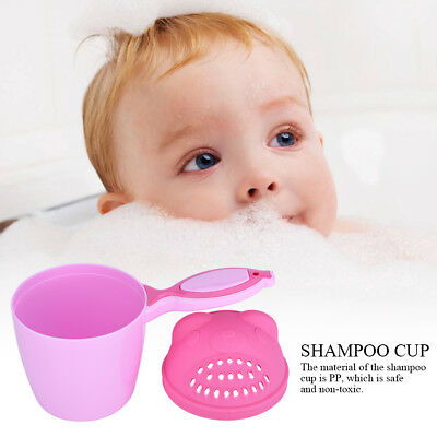 Baby Spoon Shower Bath Water Swimming Bailer Shampoo Cup Children Kids Product