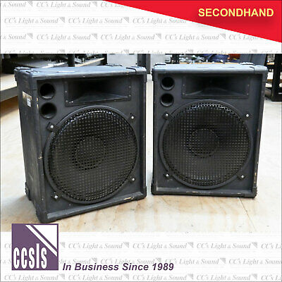PA Speaker Cabinets - Pair
