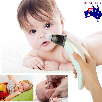 Sucker Cleaner Newborn Safe Nasal Hygienic Nose Snot Electric Aspirator for Baby