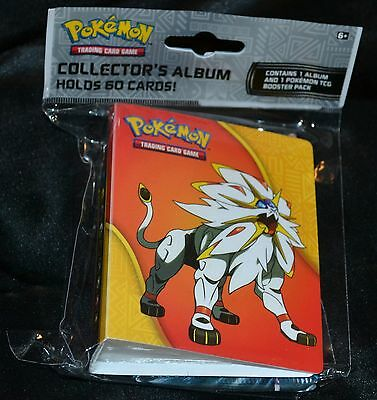 Mini Collector's Album Hält 60 Karten + Booster Pack Sammelkarten Pokemon Neu