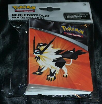 Mini Collector's Album Hält 60 Karten Booster Pack Sammelkarten Pokemon Binder