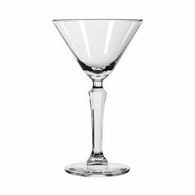 12x Libbey Spksy Retro Martini Glass 193ml Cocktail Restaurant Bar Mixed Drink