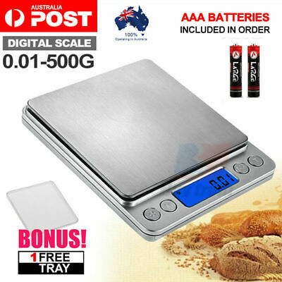 500g/0.01g Electronic Kitchen Food Scale Balance Weight Digital LCD Postal