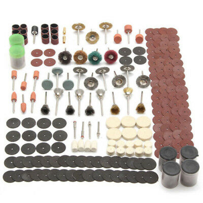 340x Rotary Tool Accessory Set Fits For Grinding Tool Polishing Sanding