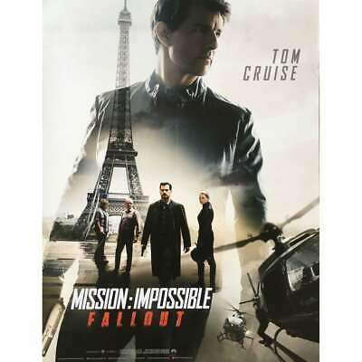 MISSION IMPOSSIBLE FALLOUT Affiche de film  - 40x60 cm. - 2018 - Tom Cruise, Chr