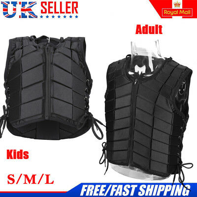 Adult/Kids Horse Riding Equestrian Body Protective Safety Eventer Vest Protector