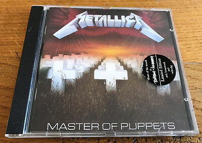 METALLICA Master of puppets  - CD