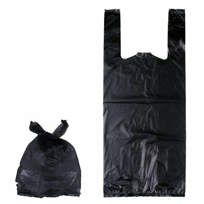Large Black Adult Incontinence Nappy Disposal Bags Pack of 100