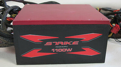 STRIKE-X 1100 Watt 80 Plus Gold Aero Cool Power Supply PC-Netzteil ATX 2.3 - 5
