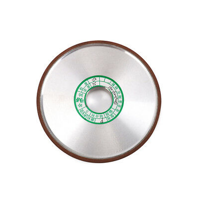 """6"""" 150mm Straight Style Diamond Grinding Wheel Cutter Grinder For Metal 180 Grit"""