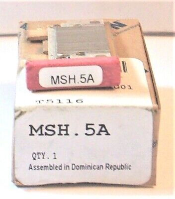Eaton Cutler Hammer  Msh.5A Thermal Heater Overload For Ms Starter Msh 5A Nib