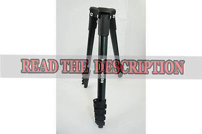 "Manfrotto - 60"" Compact Action Tripod - Black MKCOMPACTACN-BK  BASE  READ"