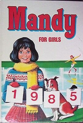 Mandy for Girls Annual 1985