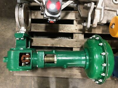"Fisher Butterfly Valve 6"" 150# 8560 w/ Actuator"