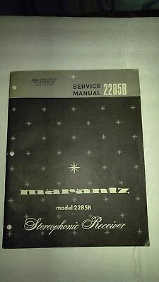 MARANTZ 2285B STEREOPHONIC RECEIVER  . Service Manual, Full parts listing, schma