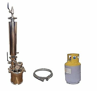 1/4 LB 120G Closed Loop Extractor With Solvent Tank - Extractor Solutions
