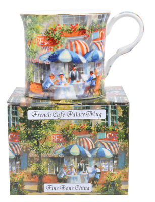 NEW French Cafe Fine Bone China Palace Tea Coffee Mug Cup Stoke on Kent