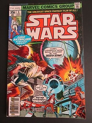 Star Wars #5. Marvel. Nov 1977