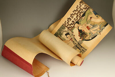 chinese Asian Paper Painting Art Picture Scroll statue Wall decoration