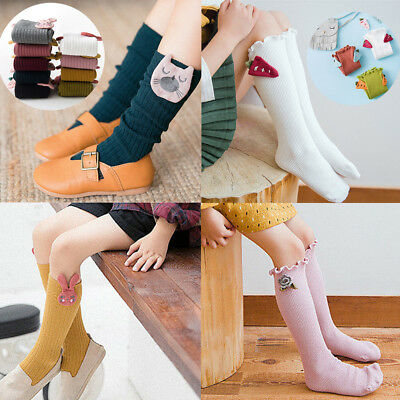 Kid Baby Girl Warm Knitted Cotton Hosiery Pantyhose Pants Stockings Socks Tights