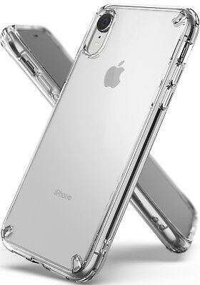 """Apple iPhone XR 6.1"""" Case, Ringke [FUSION] Shockproof Protective Crystal Clear"""