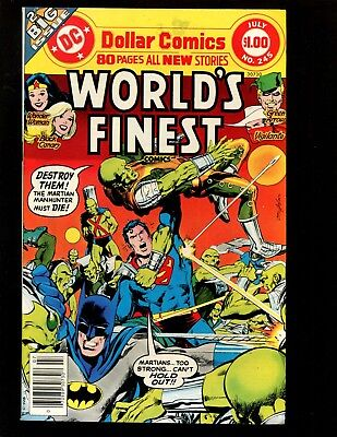 Worlds Finest #245 VF Giant Adams Swan Superman Batman Wonder Woman Green Arrow