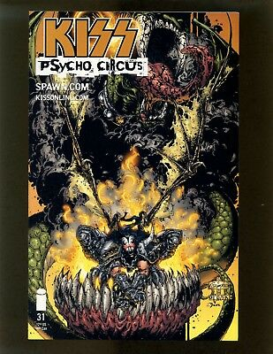 KISS: Psycho Circus #31 VFNM Crain, Shadow of the Moon Part 3