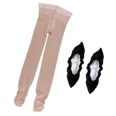 Figure Ice Roller Skating Tights Pants Leggings & Terry Skates Blade Cover