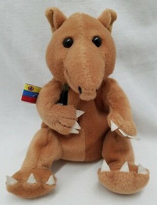 "Taps the Tapir Venezuela International Coca Cola Collection 6"" Plush Toy 1999"