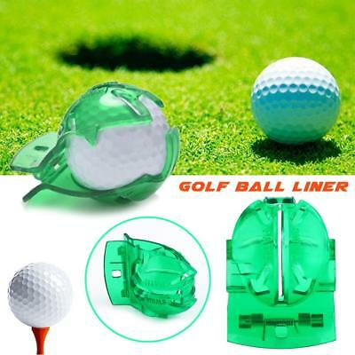 Hot Golf Ball Line Clip Liner Marker Template Alignment Marks Tool Putting Aid