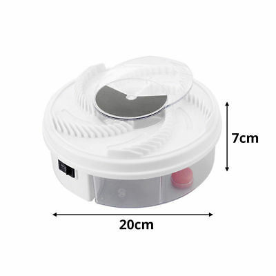 Electric USB Automatic Flycatcher Fly Trap Pest Reject Catcher Mosquito
