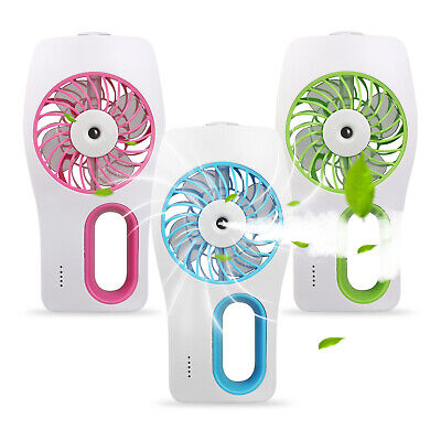 Mini Portable Outdoor USB Rechargeable Handheld Air Cooler Aroma Cooling Fan New