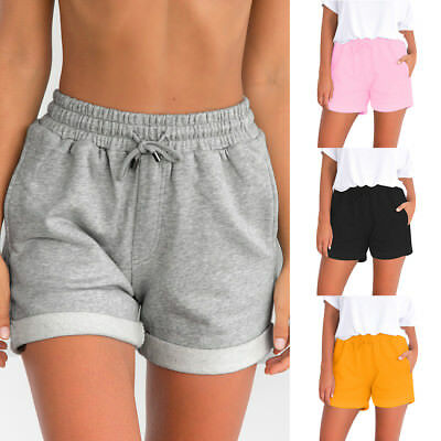 Women Summer Casual Beach Shorts Plus Size Ladies Sports Shorts Hot Pants PT Hot