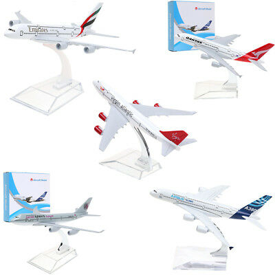A380 B747 Plane Model Aircraft Diecast Airplane Aeroplane 1:400Scale Desk Toy CA