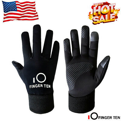 Kids Winter Gloves Waterproof 1 Pair Value Windproof Black 3M Outdoor Sport US