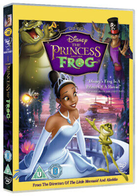 The Princess and the Frog DVD (2012) Ron Clements