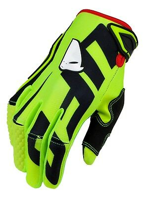 UFO 2019 MX Enduro Off Road MTB Gloves Blaze Neon Yellow Black