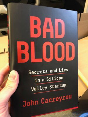 Bad Blood : Secrets and Lies in Silicon Valley Startup_Hardcover_Freeship
