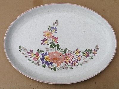 Denby Summer Fields  Summerfields Oval Plate / Platter