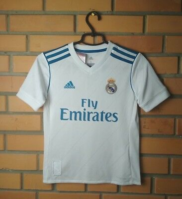 low priced 3366c 5269b REAL MADRID HOME football shirt 2017-2018 Nacho kids S 9-10 y. jersey Adidas
