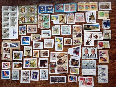 Collection Of South Africa Stamps Kiloware