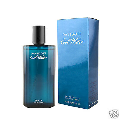Davidoff Cool Water for Men Eau De Toilette EDT 125 ml (man)