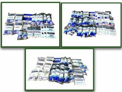 HSE REFILLS (no box) For 10,20 or 50 Person Work Emergency First Aid Kits CHEAP