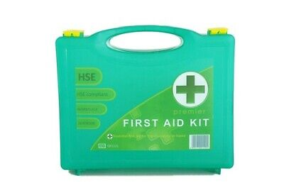 HSE Approved First Aid Kits 1,10, 20 or 50 People Emergency home work school etc