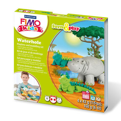 "NEU Fimo kids Form & Play Set ""Wasserloch"""